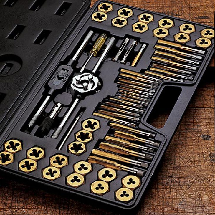 CUTTING TOOLS THREADING TAP SET DIE SET